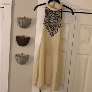 Free People halter neck dress